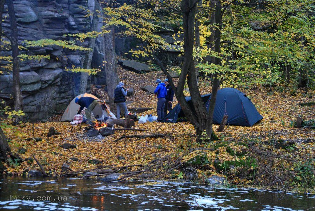 Букский каньон палатки