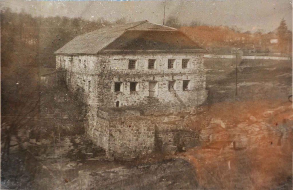 заброшенная мельница 19 столетия
