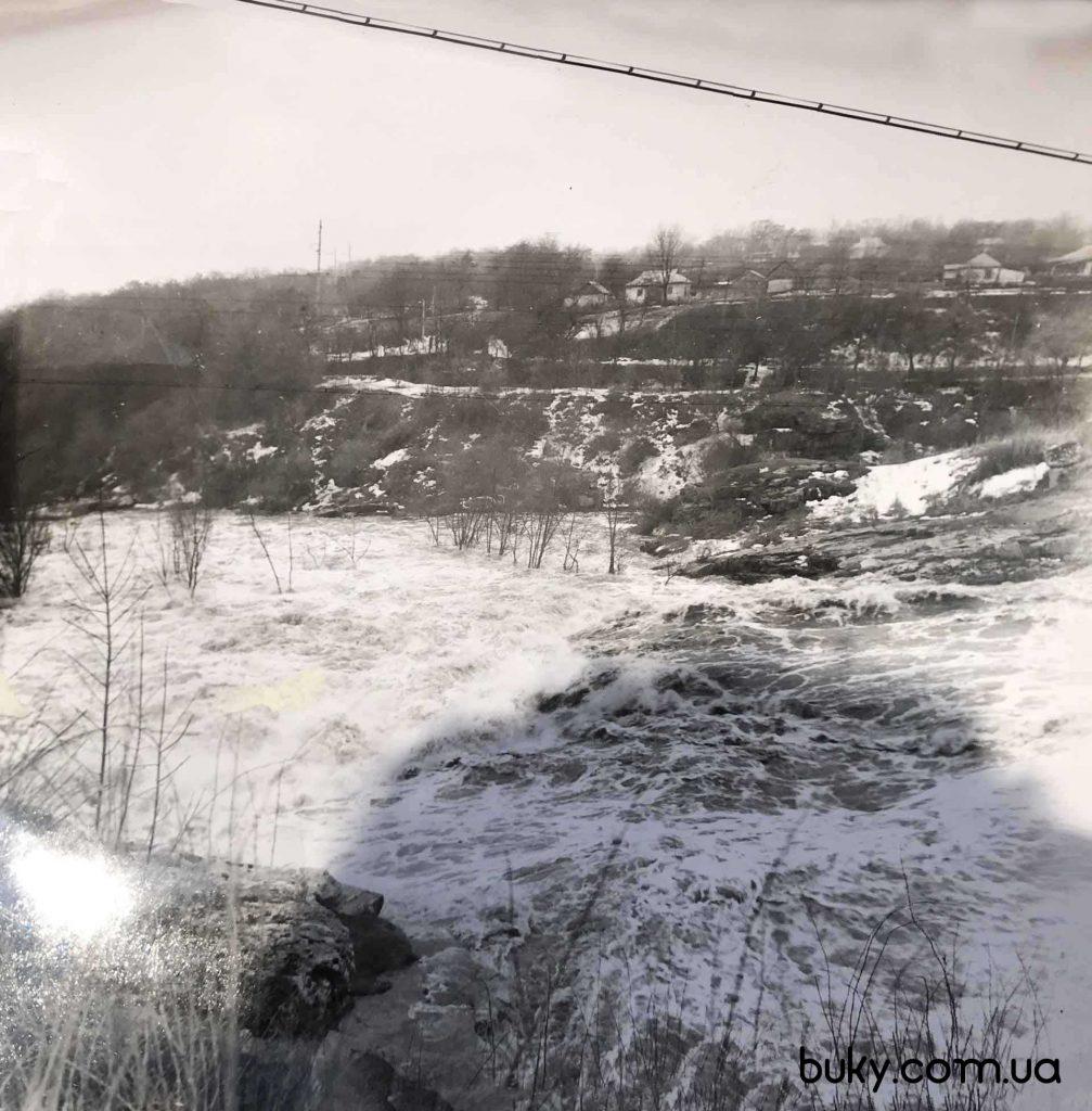 водоспад повінь вир 1980 наводнення
